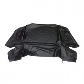 Habillage du coffre à capote en simili noir de Chrysler Le Baron cabriolet