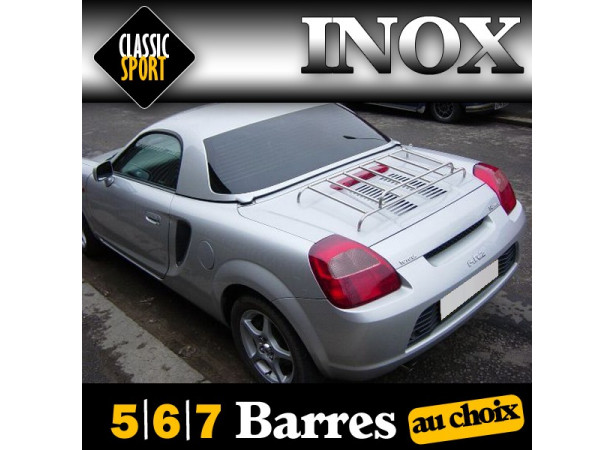 Porte-bagages Inox Classic Sport