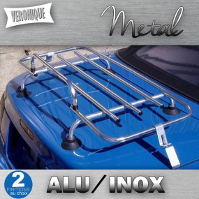 Porte-bagages Véronique 3 barres alu ou inox