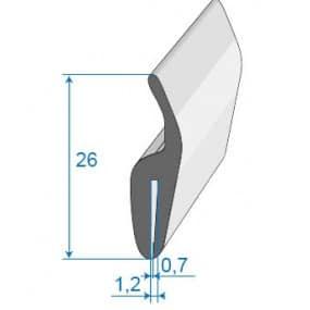 Joint tour de capot - 26 mm