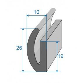 Joint de coffre - 10 x 26 mm
