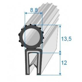 Joint coffre en élastomère armé - 8.8 x 13.5 mm