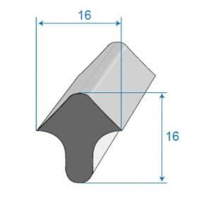 Joint de porte - 16 x 16 mm