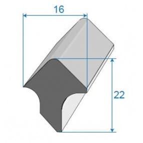 Joint de porte - 16 x 22 mm