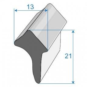 Joint de porte - 13 x 21 mm