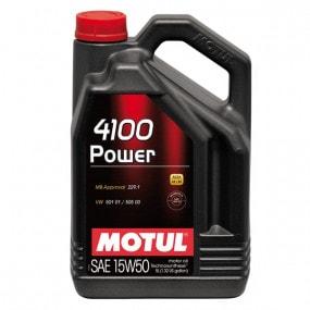 Huile Motul 4100 Power - 15W50 - 5L