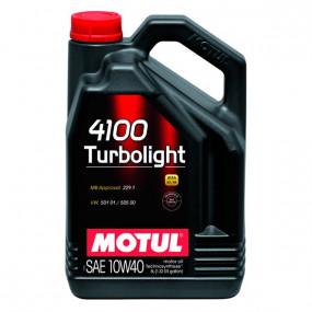 Huile Motul 4100 Turbolight 10W40 5L
