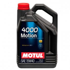 Huile Motul 4000 Motion - 15W40 - 5L