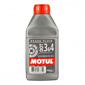 Liquide de frein Motul DOT 3&4 Brake Fluid (500 ml)