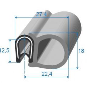 Joint de porte armé - 22.4 x 12.5 mm