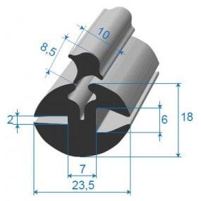 Joint à clé - 23,5 x 18 mm