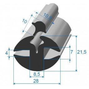 Joint à clé - 28 x 22.5 mm
