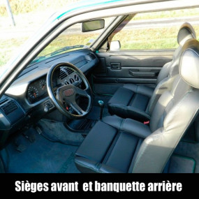 sellerie automobile sur mesure peugeot 205 gti comptoir. Black Bedroom Furniture Sets. Home Design Ideas