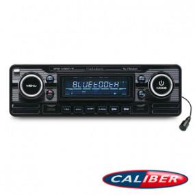 Autoradio Retrolook Caliber (RMD120BT/B) 12V noir et chrome