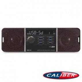 Autoradio Caliber (RMD213) 12V avec haut-parleurs 25W intégrés