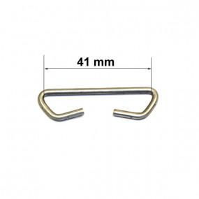 Maillon de liaison pour carcasse de siège (longueur 41mm) 20 pièces