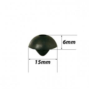 Butée de capot et de porte Ø extérieur 15mm