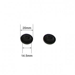 Bouche-trou plancher rond Ø 14 à 15mm