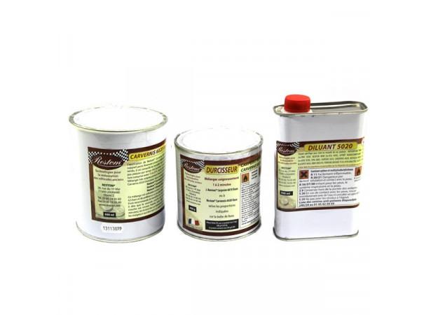 RESTOM® 6020 Vernis polyuréthane 2 composants - 1L + 0.5L