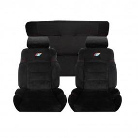 Garnitures siège avant et banquette arrière en tissu type 205 rallye