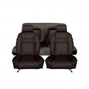 Garnitures de sièges avant et arrière pour Peugeot 504 cabriolet