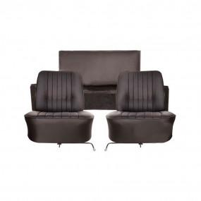 Coiffes de sièges avant et banquette arrière en simili cuir pour Renault Caravelle et Caravelle S