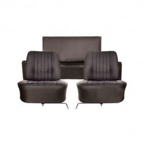Coiffes de sièges avant et banquette arrière en simili cuir pour Renault Floride et Floride S
