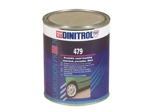 Pâte insonorisante pour dessous de caisse noir DINITROL 479 - 1Kg