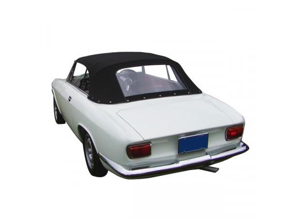 Capotes auto Alfa Romeo GTC cabriolet en vinyle sur toile coton avec lunette arriere en PVC