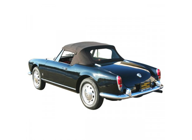 Capote Alfa Romeo Giulietta Spider cabriolet coton double face Pininfarina