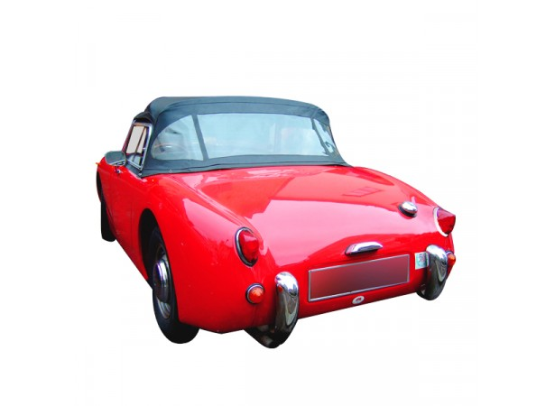 capote austin healey sprite mk1 frog eyes cabriolet en alpaga. Black Bedroom Furniture Sets. Home Design Ideas