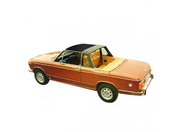 Recouvrement du Targa et du haut de pare brise BMW 1600/2002 cabriolet en vinyle sur toile coton