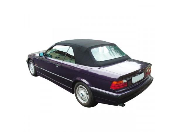 Capotes auto OEM Bmw E36 cabriolet en Alpaga Twillfast avec lunette arriere en PVC et sans poche laterale