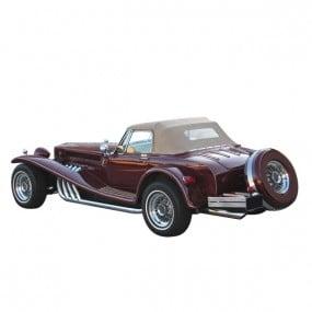 Capote Clénet Roadster cabriolet en Alpaga Stayfast®