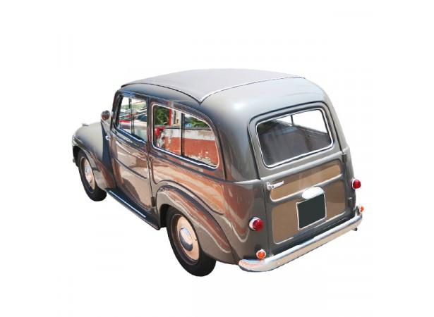 Capote toit ouvrant Fiat 500C Belvedere cabriolet en vinyle sur toile coton