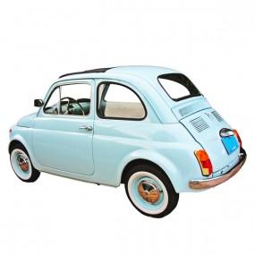 Toit ouvrant en vinyle Fiat 500 D cabriolet