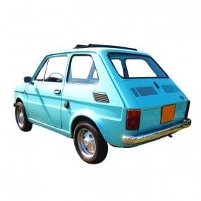 Toit ouvrant en vinyle Fiat 126 découvrable
