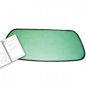Lunette adaptable capote Fiat Barchetta cabriolet 88.5 x 43 cm