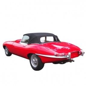 Capote Jaguar Type E/XKE cabriolet en Vinyle aspect Grain Cuir