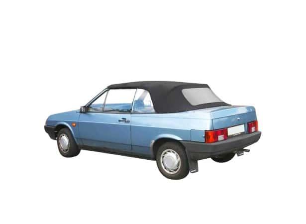 Capote auto Lada Samara Natacha cabriolet en Alpaga Sonnenland avec lunette arrière en PVC
