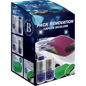 Pack nettoyage, rénovation et imperméabilisation Belgom® pour capote Alpaga incolore