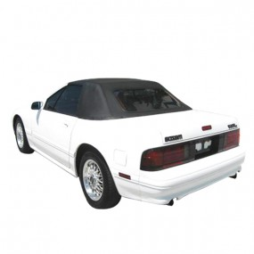 Partie avant + partie arrière en Vinyle (sans vitre) pour capote de Mazda RX7 cabriolet