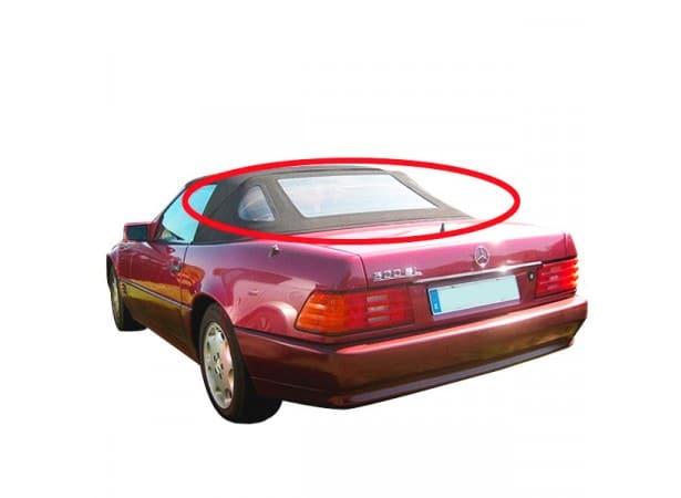Lunette arrière en Alpaga Twillfast II pour capote Mercedes 500 SL cabriolet type R129