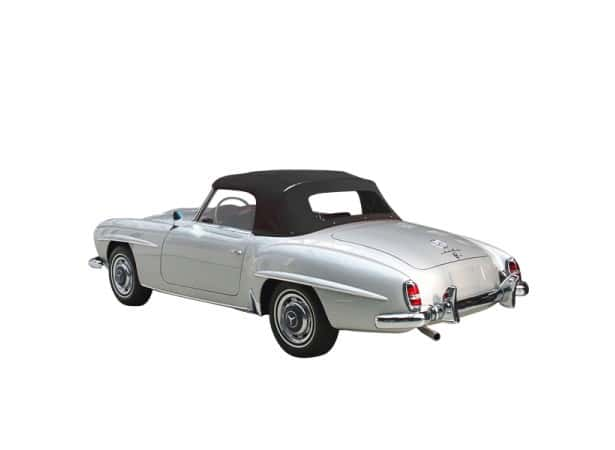 capote mercedes 190 sl cabriolet type w121 en alpaga sonnenland sn2. Black Bedroom Furniture Sets. Home Design Ideas