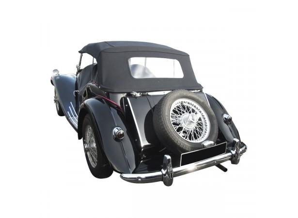 Capote auto MG TF cabriolet en Vinyle avec lunette arriere en PVC