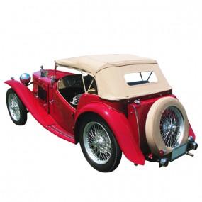 Capote MG TC cabriolet en Vinyle