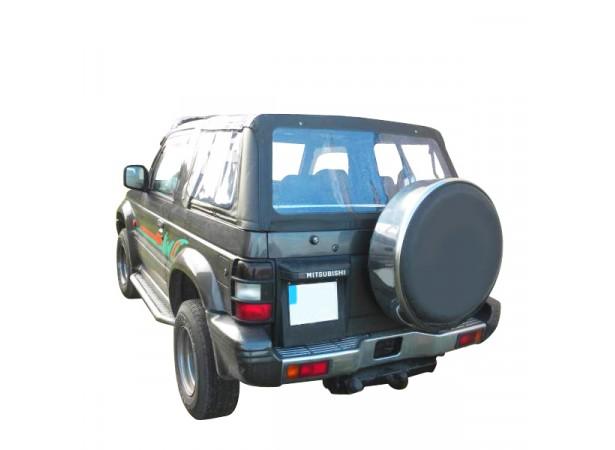 Capote 4x4 (partie arrière) Mitsubishi Montero cabriolet en Alpaga Twillfast II