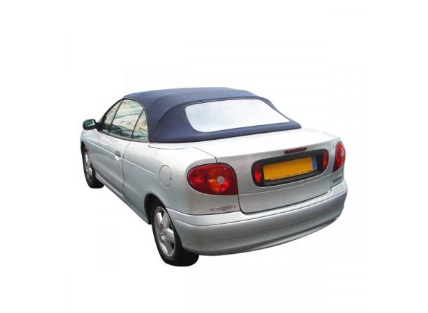 Capote auto Renault Megane cabriolet en Vinyle aspect Alpaga Twillfast avec lunette arrière en PVC