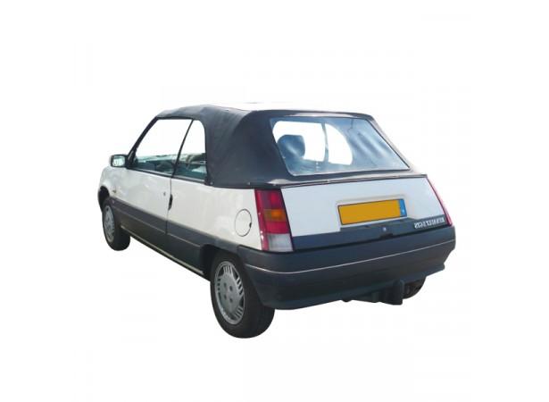 Capote auto Renault R5 EBS cabriolet en Vinyle avec lunette arrière en PVC