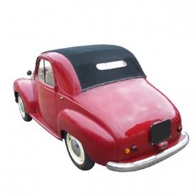 Capote Simca 6 cabriolet en vinyle sur toile coton